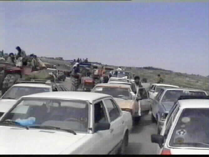People fleeing the brutality of Saddam Husseins forces