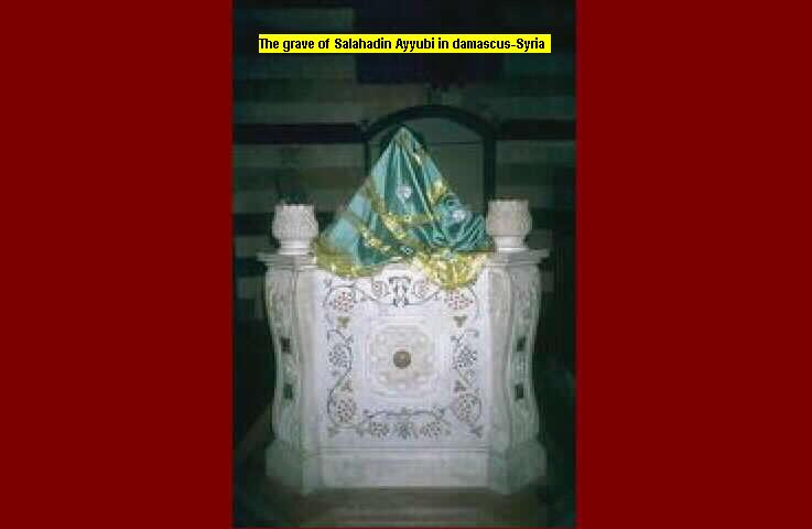 Salahaddin Ayyubi, The great Kurdish Muslim Leader's grave in Damascus