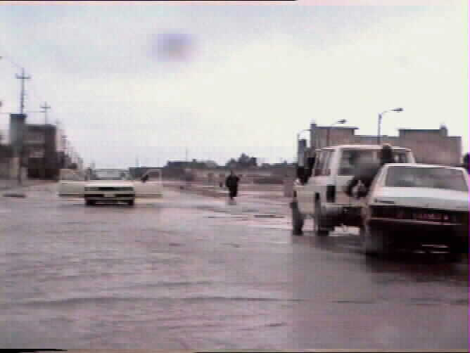 THE CITY OF KIRKUK during the liberation of the late march 1991